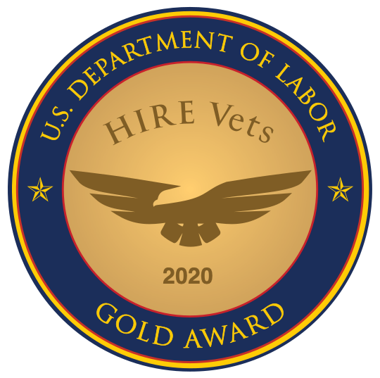 U.S. Department of Labor Gold Award