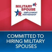 Military Spouse employment partnership. Committed to hiring military spouses
